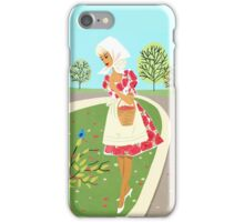 Birds And Flowers On A Brisk Spring Day iPhone Case/Skin