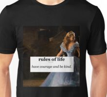 Have courage and be kind / cinderella Unisex T-Shirt