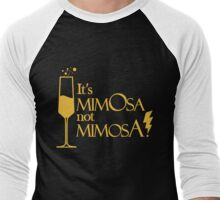Wingardium MimOsa - Black/Yellow Men's Baseball ¾ T-Shirt