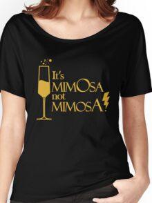 Wingardium MimOsa - Black/Yellow Women's Relaxed Fit T-Shirt