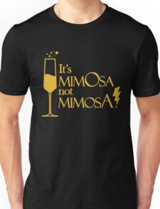Wingardium MimOsa - Black/Yellow Unisex T-Shirt