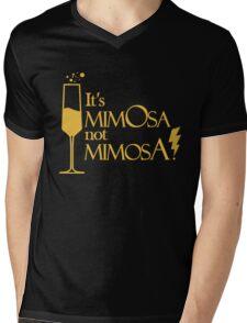 Wingardium MimOsa - Black/Yellow Mens V-Neck T-Shirt