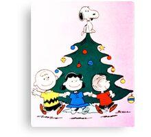 CHARLIE BROWN CHRISTMAS 11 Canvas Print