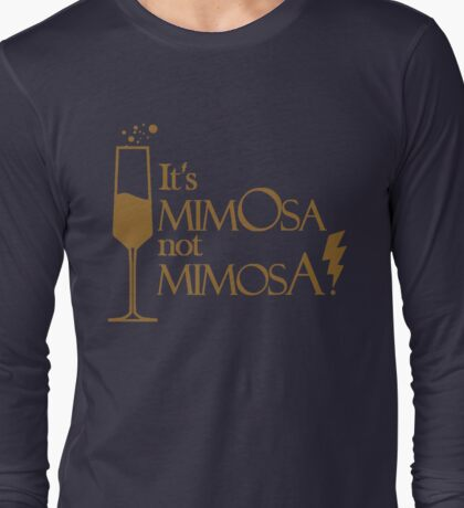 Wingardium MimOsa - Blue/Bronze Long Sleeve T-Shirt