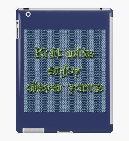 Knit wits iPad Case/Skin