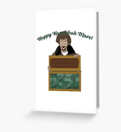 Happy Hanukkah Marv! Greeting Card