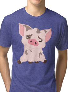 Pua Q Tri-blend T-Shirt