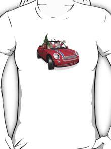 Santa Claus In Mini T-Shirt