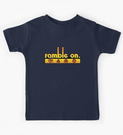 Ramble On Kids Tee