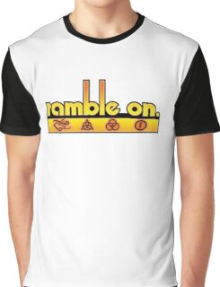 Ramble On Graphic T-Shirt