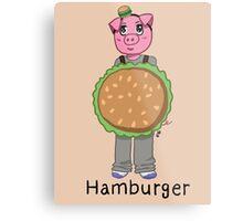 Ham-Burger Metal Print