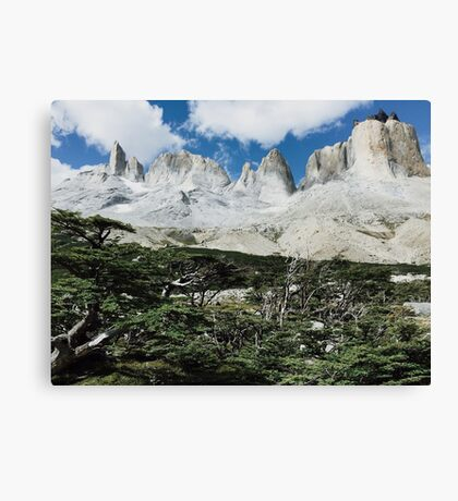 Francés Valley Patagonia Chile Canvas Print