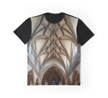 Beautiful medieval church interior, Salzburg, Austria Graphic T-Shirt
