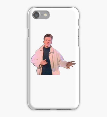 Rick Astley at his Best iPhone Case/Skin