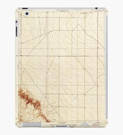 USGS TOPO Map California CA Levis 296245 1923 31680 geo iPad Case/Skin