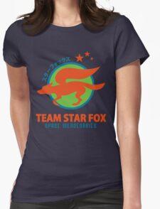 Space Mercenaries Womens Fitted T-Shirt