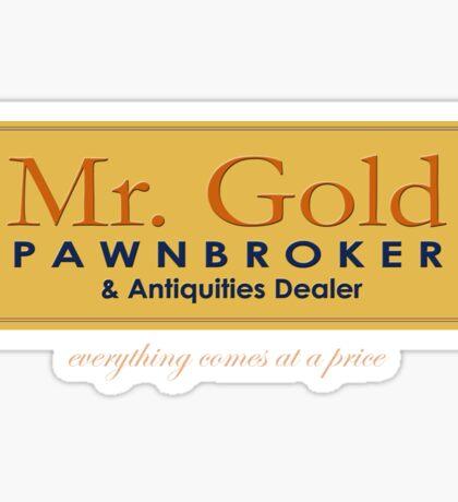 Mr Gold's Pawn Shop Sticker