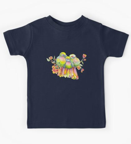 Birds and Blossoms Kids Tee