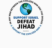 Support Israel, Defeat Jihad Unisex T-Shirt