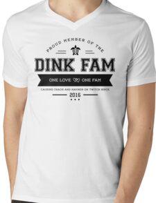 Dink Fam - Dark Logo Mens V-Neck T-Shirt