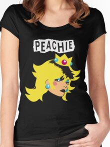 Just Peachie Women's Fitted Scoop T-Shirt