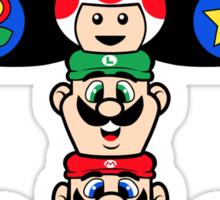 Mushroom Totem Sticker