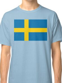 Flag of Sweden Classic T-Shirt