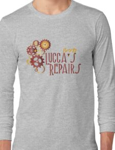 Lucca's Repairs Long Sleeve T-Shirt