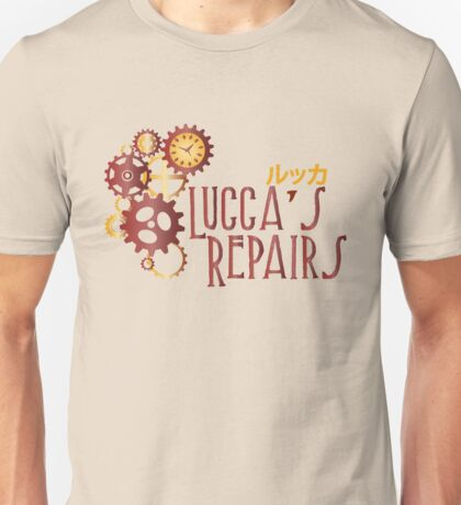 Lucca's Repairs Unisex T-Shirt