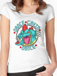 Dance Pokemon Dance Women's Fitted Scoop T-Shirt