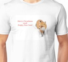 Merry Christmas and Happy New Year Unisex T-Shirt