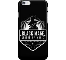 League of Magic: Black iPhone Case/Skin