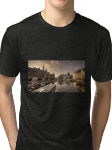 Gent winter dawn  Tri-blend T-Shirt