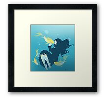 Fish People Framed Print