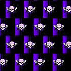 Wing Skull - PURPLE (Pattern) by Adamzworld