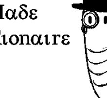 Self-made Millionaire Sticker