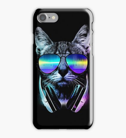 Music Lover Cat iPhone Case/Skin