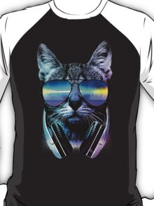 Music Lover Cat T-Shirt