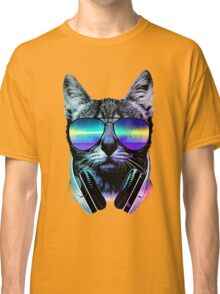Music Lover Cat Classic T-Shirt