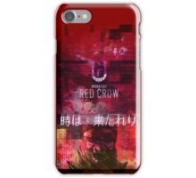 Rainbow Six Siege Operation Red Crow (Twitter teaser) (iPhone) iPhone Case/Skin