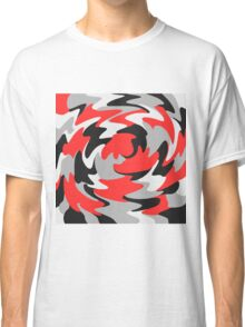 Abstract Color Warp Classic T-Shirt
