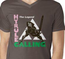 Hyrule Calling Mens V-Neck T-Shirt