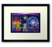 SING THAT SONG Framed Print