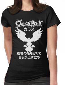 Karasu (カラス) [White] Womens Fitted T-Shirt