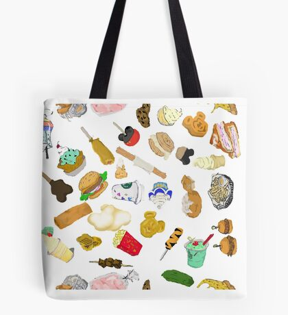 Happiest food on Earth Tote Bag