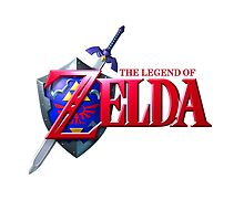 Legend of Zelda Logo by hozg