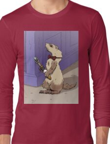 Ferret Who Long Sleeve T-Shirt