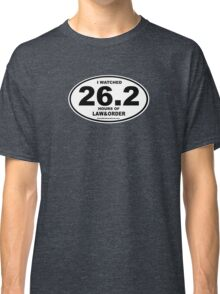 Law & Order Marathon Gear Classic T-Shirt