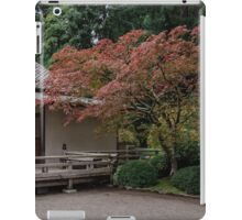 Fall colors in the garden iPad Case/Skin