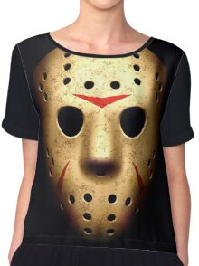 Jason Voorhees - Friday the 13th Chiffon Top